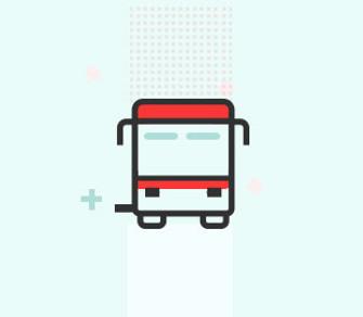 Viajar en bus urbano