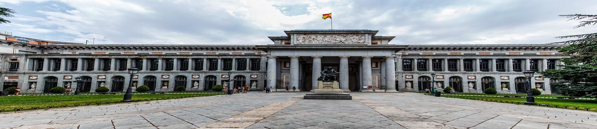 Panorámica Museo del Prado